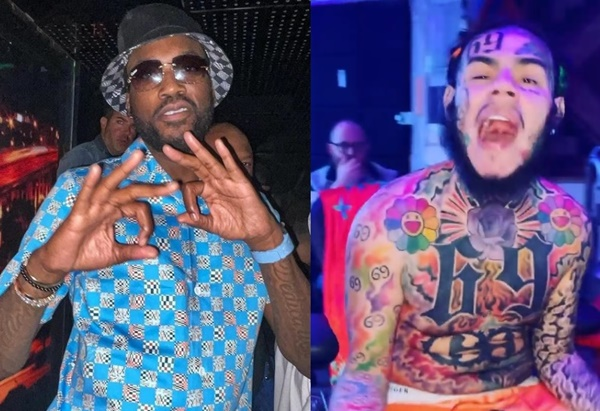 Meek Mill + Tekashi 69 Almost Come To Blows
