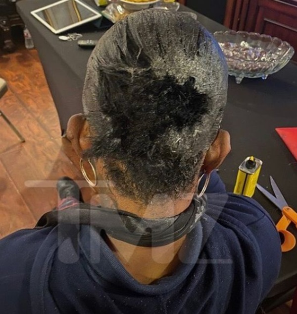 """Gorilla Glue Girl Able To Remove Ponytail with """"Goof Off"""""""
