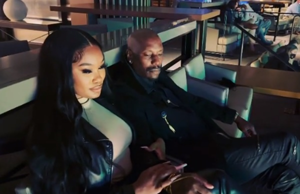Tyrese Posts Video With New Girlfriend Zelie Timothy Amid Divorce