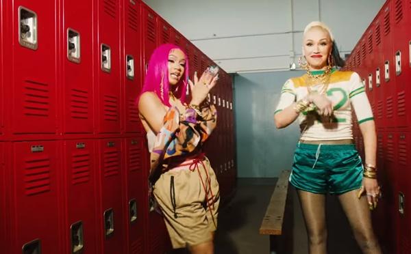 "Gwen Stefani Back With ""Slow Clap"" ft. Saweetie"