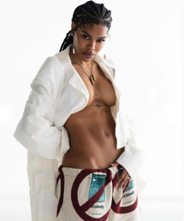 """Teyana Taylor Named As Maxim's """"Sexiest Woman Alive"""""""