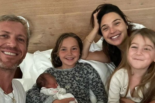 Gal Gadot Welcomes Third Daughter; Baby Daniella