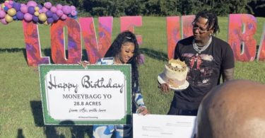 Ari Fletcher Gifts BF MoneyBagg Yo 28 Acres Of Land For Bday