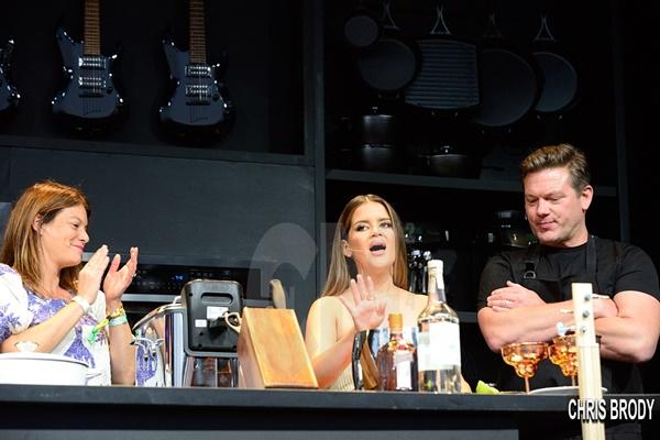 BottleRock Culinary Stage: Warren G Maren Morris G-Eazy + Ayesha Curry