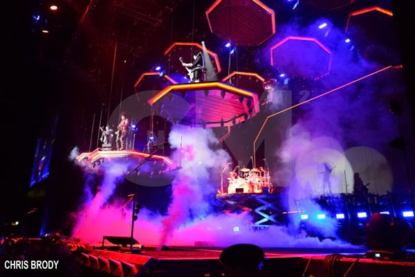KISS Proves They're Still ROCK GODS at Toyota Amphitheatre
