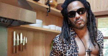 Lenny Kravitz Abs Grabs Channing Tatum + The Rock