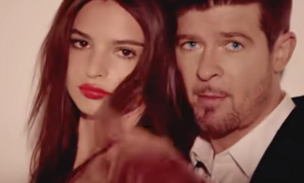 Robin Thicke Accused Of Groping Model Emily Ratajkowski